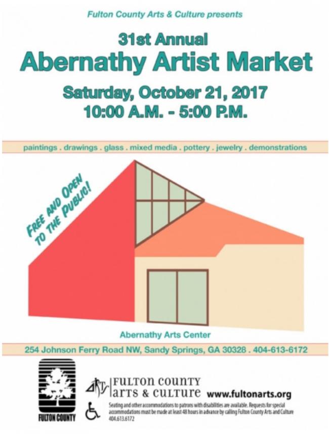 31st Annual Abernathy Artist Market