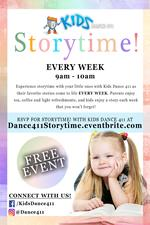 Kids Dance 411 Storytime