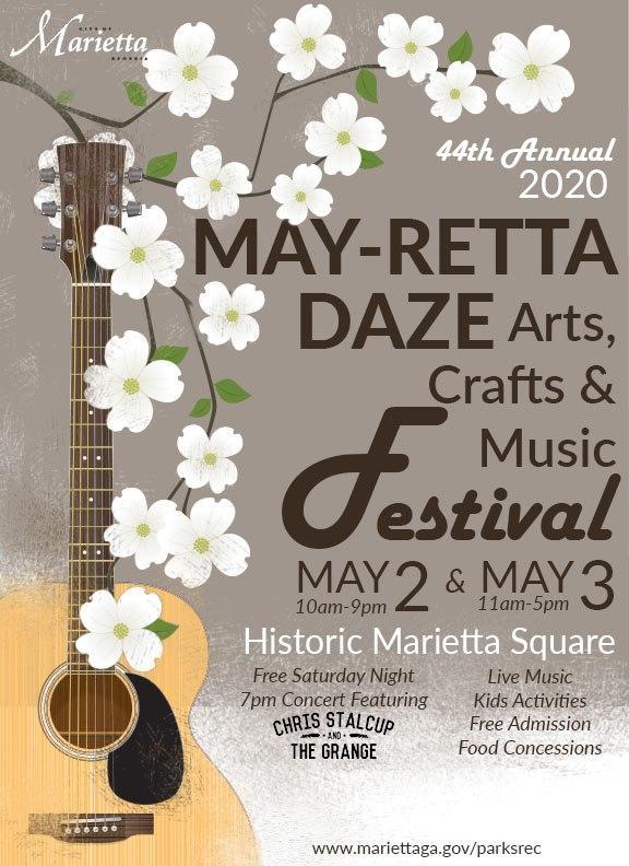 Marietta Square Halloween 2020 POSTPONED*****2020 May retta Daze Arts, Crafts & Music Festival at