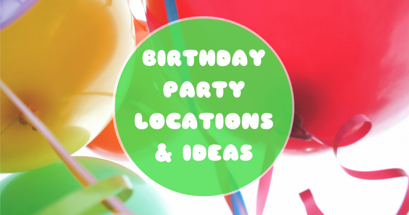 Birthday Party Locations Ideas In The Atlanta Area Kids Out - Children's birthday party atlanta